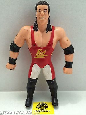 (TAS005470) - WWE WWF WCW nWo Wrestling Bend-Ems Action Figure - 1 2 3 Kid, , Sports, Varies, The Angry Spider Vintage Toys & Collectibles Store