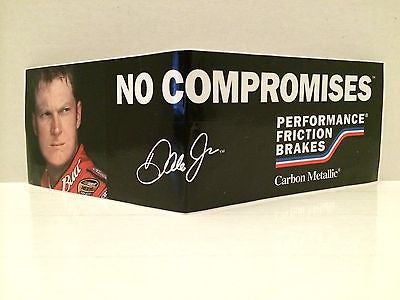 "(TAS030488) - NASCAR Bumper Sticker - ""No Compromises"" Dale Earnhardt Jr., , Stickers, NASCAR, The Angry Spider Vintage Toys & Collectibles Store"