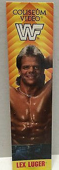 (TAS004163) - WWE WWF WCW Wrestling Bookmark - Lex Luger, , Books, Wrestling, The Angry Spider Vintage Toys & Collectibles Store