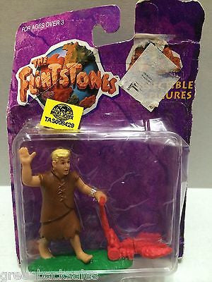 (TAS008429) - Mattel The Flintstones Collectible Figure - Barney Rubble, , Action Figure, The Flintstones, The Angry Spider Vintage Toys & Collectibles Store