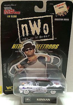 (TAS006204) - WWF WCW nWo WWE Nitro-Streetrods - Konnan, , Trucks & Cars, Racing Champions, The Angry Spider Vintage Toys & Collectibles Store