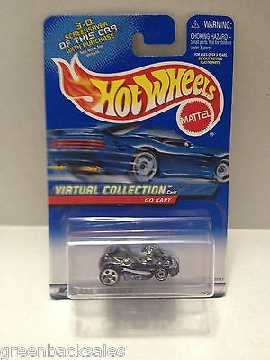 (TAS010153) - 2000 Mattel Hot Wheels Die Cast Replica - Go Kart, , Trucks & Cars, Hot Wheels, The Angry Spider Vintage Toys & Collectibles Store  - 1