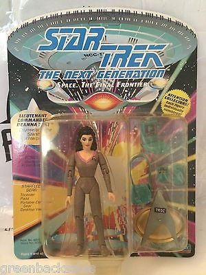 (TAS030475) - 1992 Playmates Star Trek The Next Generation Figure - Deanna, , Action Figure, Star Trek, The Angry Spider Vintage Toys & Collectibles Store