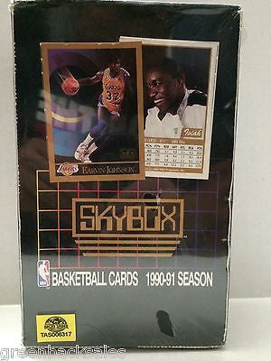 (TAS006317) - Skybox - Basketball Cards 1990-91 Season, , Trading Cards, NBA, The Angry Spider Vintage Toys & Collectibles Store
