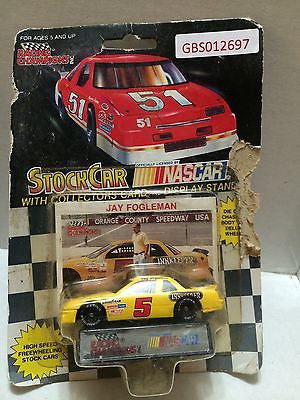 (TAS030623) - Racing Champions StockCar Nascar - Jay Fogleman #5, , Trucks & Cars, Racing Champions, The Angry Spider Vintage Toys & Collectibles Store