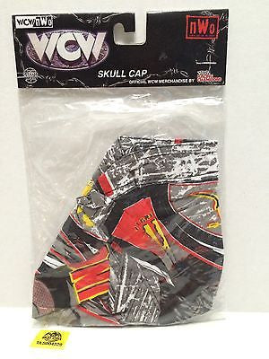 (TAS004329) - WWE WWF WCW NWO Wrestling Skull Cap - Sting, , Sports, Varies, The Angry Spider Vintage Toys & Collectibles Store