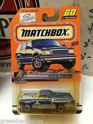 (TAS031513) - Matchbox Toy Car - 1970 El Camino, , Cars, Matchbox, The Angry Spider Vintage Toys & Collectibles Store