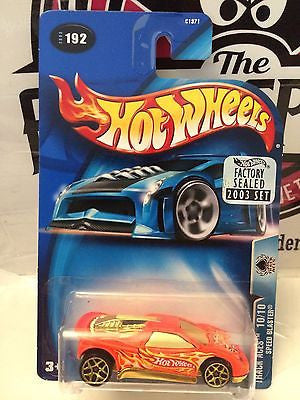 (TAS004430) - Hot Wheels Track Aces 10/10 Speed Blaster - Collector #192, , Cars, Hot Wheels, The Angry Spider Vintage Toys & Collectibles Store