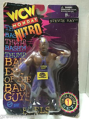 (TAS008261) - TOSFTM WCW Wrestling Monday Nitro - Stevie Ray, , Action Figure, Wrestling, The Angry Spider Vintage Toys & Collectibles Store