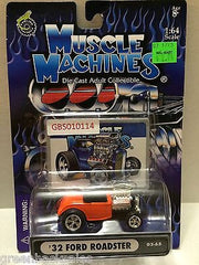 (TAS030768) - Muscle Machines Die Cast Car - '32 Ford Roadster, , Cars, Muscle Machines, The Angry Spider Vintage Toys & Collectibles Store