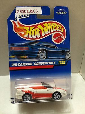 (TAS030961) - Mattel Hot Wheels Car - '95 Camaro Convertible, , Cars, Hot Wheels, The Angry Spider Vintage Toys & Collectibles Store