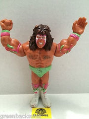 (TAS005092) - WWE WWF WCW nWo Wrestling Hasbro Action Figure - Ultimate Warrior, , Action Figure, Wrestling, The Angry Spider Vintage Toys & Collectibles Store