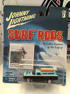 (TAS004247) - Johnny Lightning Surf Rods - Coast Busters, , Cars, Johnny Lightning, The Angry Spider Vintage Toys & Collectibles Store