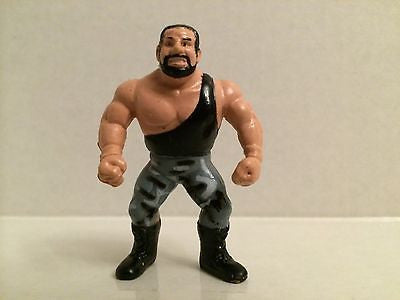 (TAS031317) - WWF WWE Generic Bushwhacker Mini Wrestling Figure, , Action Figure, Wrestling, The Angry Spider Vintage Toys & Collectibles Store