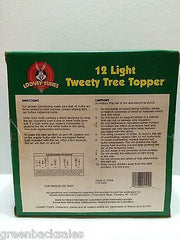 (TAS009255) - Looney Tunes 12 Light Tweety Christmas Tree Topper (used) - Tweety, , Christmas, Looney Tunes, The Angry Spider Vintage Toys & Collectibles Store  - 3
