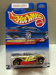 (TAS030850) - Mattel Hot Wheels Car - Turbo Flame, , Cars, Hot Wheels, The Angry Spider Vintage Toys & Collectibles Store