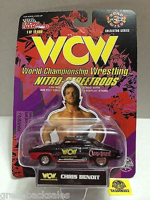 (TAS006202) - Racing Champions WCW Nitro-Streetrods 1:64 Die-Cast - Chris Benoit, , Trucks & Cars, Racing Champions, The Angry Spider Vintage Toys & Collectibles Store