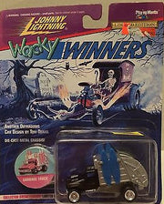 (TAS003409) - Johnny Lightning Wacky Winners Die-Cast - Garbage Truck, , Trucks & Cars, Johnny Lightning, The Angry Spider Vintage Toys & Collectibles Store