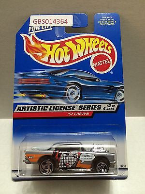 (TAS030979) - Mattel Hot Wheels Car - '57 Chevy, , Cars, Hot Wheels, The Angry Spider Vintage Toys & Collectibles Store