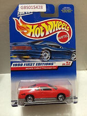 (TAS031036) - Hot Wheels 1999 First Editions Monte Carlo Concept Car 6/26, , Cars, Hot Wheels, The Angry Spider Vintage Toys & Collectibles Store