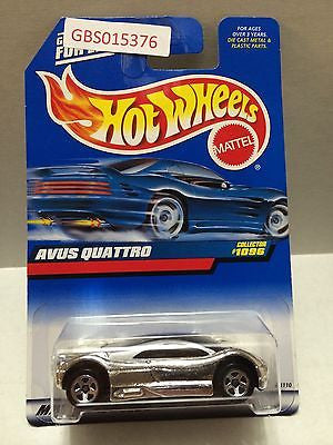 (TAS031026) - Mattel Hot Wheels Car - Avus Quattro, , Cars, Hot Wheels, The Angry Spider Vintage Toys & Collectibles Store