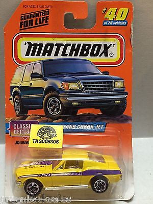 (TAS009306) - Matchbox Cars - Mustang Cobra Jet, , Cars, Matchbox, The Angry Spider Vintage Toys & Collectibles Store