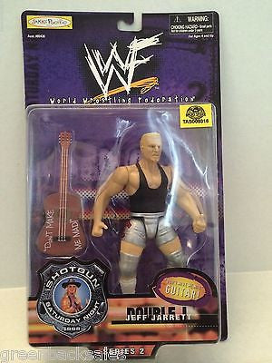 (TAS009316) - 1998 Jakks WWF Shotgun Saturday Night Figure - Jeff Jarrett, , Other, JAKKS Pacific, The Angry Spider Vintage Toys & Collectibles Store  - 1