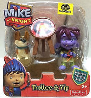 (TAS009553) - Fisher Price Mike The Knight Trollee Yip Includes Training Target, , Action Figure, Fisher Price, The Angry Spider Vintage Toys & Collectibles Store
