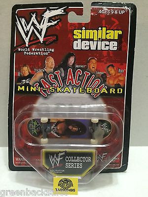(TAS008495) - WWF WWE Wrestling Fast Action Mini Skateboard Series - X-Pac, , Action Figure, Wrestling, The Angry Spider Vintage Toys & Collectibles Store