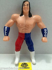 (TAS005034) - WWE WWF WCW nWo Wrestling Bend-Ems Action Figure - British Bulldog, , Sports, Varies, The Angry Spider Vintage Toys & Collectibles Store