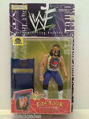 (TAS008926) - 1998 Jakks WWF DTA Tour Wrestling Figure - Dude Love, , Other, JAKKS Pacific, The Angry Spider Vintage Toys & Collectibles Store  - 1