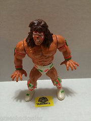 (TAS005413) - WWE WWF WCW nWo Wrestling Hasbro Action Figure - Ultimate Warrior, , Action Figure, Wrestling, The Angry Spider Vintage Toys & Collectibles Store