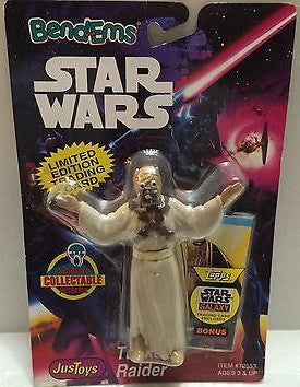(TAS000514) - Star Wars Bend-Ems JusToys - Tusken Raider, , Action Figure, Star Wars, The Angry Spider Vintage Toys & Collectibles Store