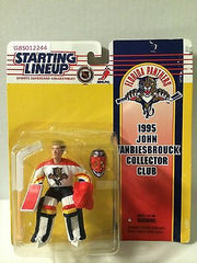 (TAS030513) - 1995 Kenner NHL Starting Lineup John Vanbiesbrouck Action Figure, , Action Figure, Starting Lineup, The Angry Spider Vintage Toys & Collectibles Store