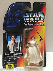 (TAS008130) - Hasbro Star Wars Power of the Force Figure - Princess Leia Organa, , Action Figure, Star Wars, The Angry Spider Vintage Toys & Collectibles Store