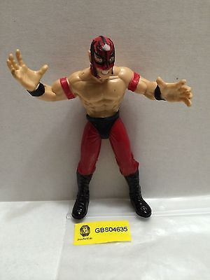 (TAS031284) - WWF WWE WCW Jakks Wrestling Figure - Rey Mysterio, , Action Figure, Wrestling, The Angry Spider Vintage Toys & Collectibles Store