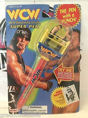 "(TAS030472) - 1998 WCW WWF nWo Super Pen - Hulk Hogan & The Giant ""Big Show"", , Pen, Wrestling, The Angry Spider Vintage Toys & Collectibles Store"