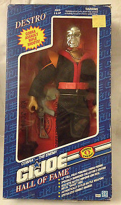 (TAS031122) - G.I. Joe Action Figure  Hall of Fame - Destro - 1992, , Action Figure, G.I. Joe, The Angry Spider Vintage Toys & Collectibles Store