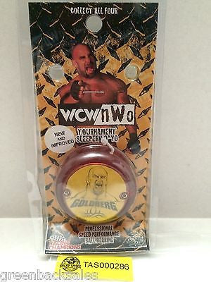 (TAS000286) - WWE WWF WCW Wrestling Goldberg Yo-Yo, , Yo-Yo, Wrestling, The Angry Spider Vintage Toys & Collectibles Store