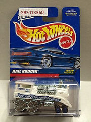 (TAS030916) - Hot Wheels Rail Rodder - Collector #1043  Ice Breaker, , Cars, Hot Wheels, The Angry Spider Vintage Toys & Collectibles Store