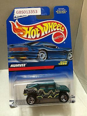 (TAS030912) - Mattel Hot Wheels Car - Humvee, , Cars, Hot Wheels, The Angry Spider Vintage Toys & Collectibles Store