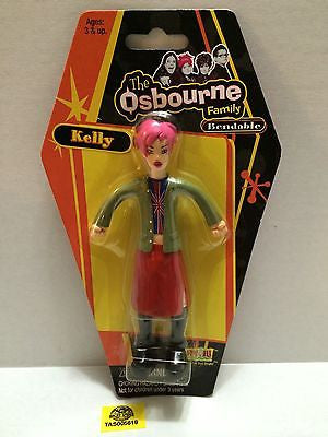 (TAS005619) - Fun 4 All The Osbourne Family Bendable Action Figure - Kelly, , Action Figure, n/a, The Angry Spider Vintage Toys & Collectibles Store