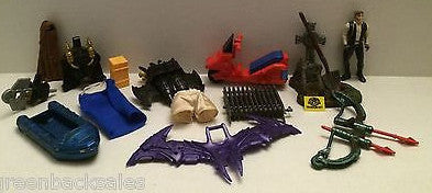 (TAS009187) - Star Wars G.I. Joe MOTU Accessories Lot, , Sports, Varies, The Angry Spider Vintage Toys & Collectibles Store