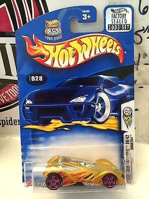 (TAS004788) - Hot Wheels '03 First Editions 16/42 - Sinistra, , Cars, Hot Wheels, The Angry Spider Vintage Toys & Collectibles Store