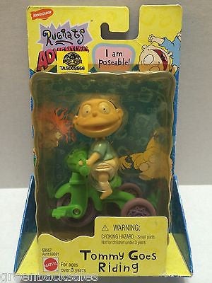 (TAS008556) - New The Rugrats Figure - Tommy Goes Riding, , Action Figure, Nickelodeon, The Angry Spider Vintage Toys & Collectibles Store