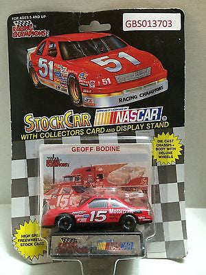 (TAS030640) - Racing Champions StockCar Nascar - Geoff Bodine #15, , Trucks & Cars, Racing Champions, The Angry Spider Vintage Toys & Collectibles Store