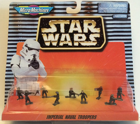 (TAS030000) - 1996 Galoob Micro Machines Star Wars Imperial Naval Troopers, , Action Figure, Star Wars, The Angry Spider Vintage Toys & Collectibles Store  - 1