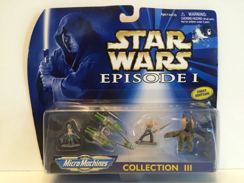 (TAS030001) - 1998 Galoob Micro Machines Star Wars Episode I Collection III, , Action Figure, Star Wars, The Angry Spider Vintage Toys & Collectibles Store  - 1