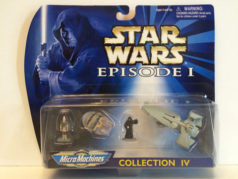 (TAS030003) - 1998 Galoob Micro Machines Star Wars Episode I Collection IV, , Action Figure, Star Wars, The Angry Spider Vintage Toys & Collectibles Store  - 1
