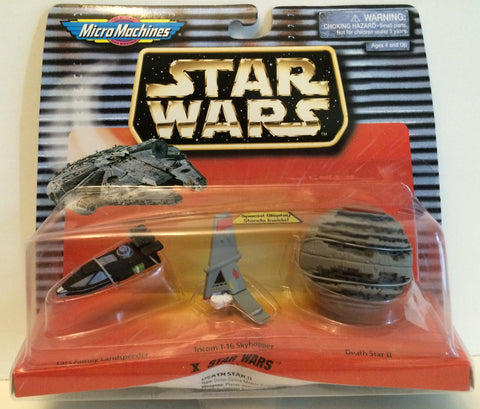 (TAS030004) - 1996 Galoob Micro Machines Star Wars X Star Wars, , Action Figure, Star Wars, The Angry Spider Vintage Toys & Collectibles Store  - 1